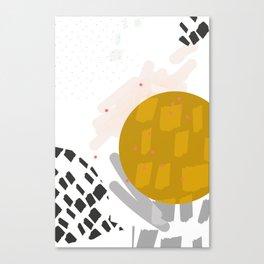 Waxing Moon Canvas Print