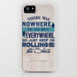 Kerouac  iPhone Case