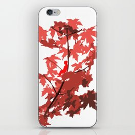 Tree Sitting iPhone Skin