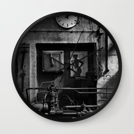 Old Factory 1 Wall Clock