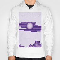 egyptian Hoodies featuring Egyptian Moon by Erica Putis