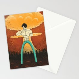 Kenshiro doesn't look at explosions Stationery Cards