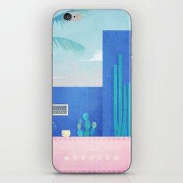 Morocco / Cactus iPhone Skin