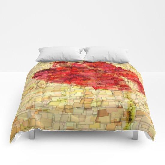 Poppy Bud Comforters