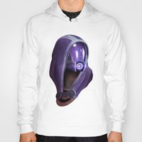 garrus Hoodies featuring Mass Effect: Tali'Zorah vas Normandy by Ruthie Hammerschlag