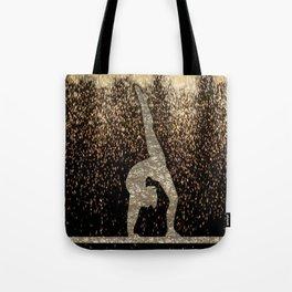 Sparkle Gymnast Tote Bag