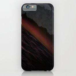 Anime Storm iPhone Case