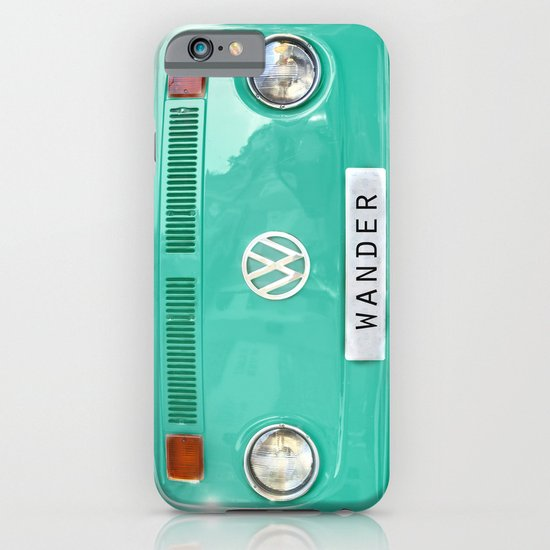 Wander wolkswagen. Summer dreams. Green iPhone & iPod Case