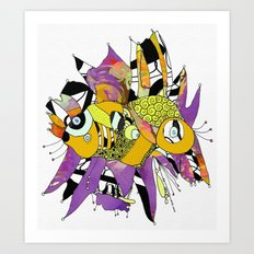 Olie Art Print