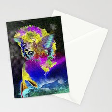 Marilin butterfly dolphin  Stationery Cards