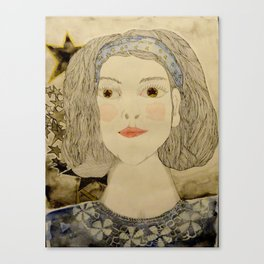 Imagen   interna de mi prima sofi Canvas Print