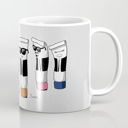 Reservoir Colours (with blood and light colored t-shirts) Coffee Mug