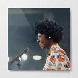 ˢᵗᵉᵛᵉ ᴼⁿ ᵀʰᵉ ᴮᵉᵃᶜʰ@𝕀𝕟𝕤𝕥𝕒𝕘𝕣𝕒𝕞 𝙲𝚘𝚕𝚕𝚊𝚋𝚘𝚜   Shirley Anita Chisholm - BLM - S6 - 665 Metal Print