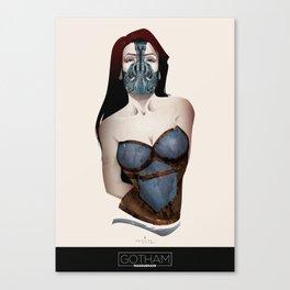 Gotham Masquerade IV Canvas Print