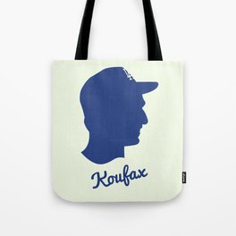 Sandy Koufax Tote Bag