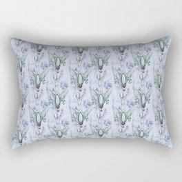 watercolor airplanes Rectangular Pillow