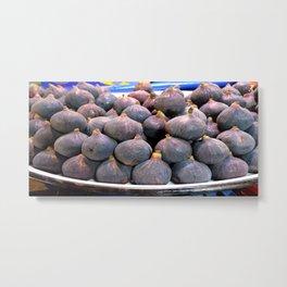 Fresh Figs Metal Print