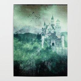 The dark fairytale - Bavarian Fairytale Castle Poster