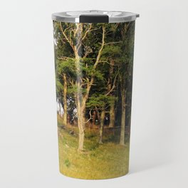 Hillside at Sunset Travel Mug