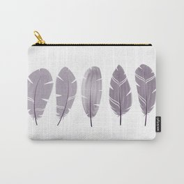 Five Feathers black Carry-All Pouch