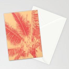 Mango Coral Tropical Palma Stationery Cards