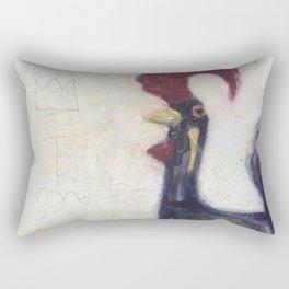 Gallo White Back Drop Rectangular Pillow