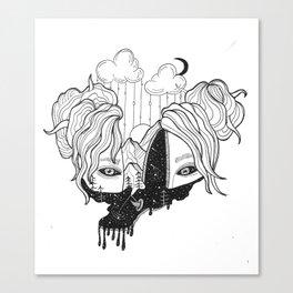 whoa Canvas Print