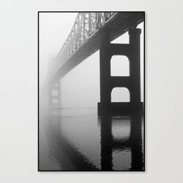 Savanna-Sabula Bridge Canvas Print