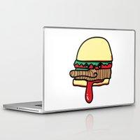 burger Laptop & iPad Skins featuring Burger by Espenbke