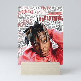 Juice Wrld Mini Art Print