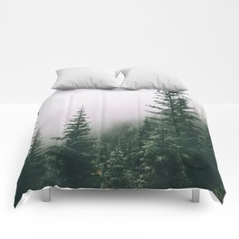 Moody Forest Comforters