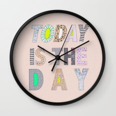 Today is The Day Wall Clock