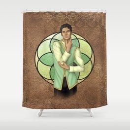 Briar Moss Shower Curtain