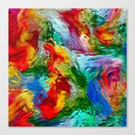 Magic Carpet Ride Abstract Canvas Print