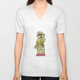 David of Lego Unisex V-Neck
