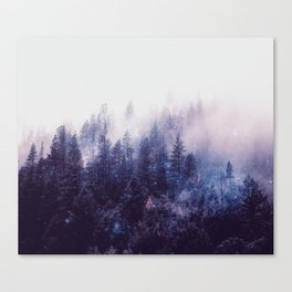 Misty Space Canvas Print
