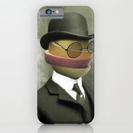 Bowler fruit iPhone & iPod Case
