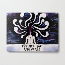 You Are The Universe Metal Print
