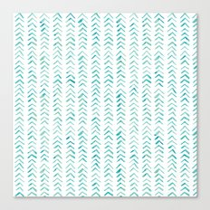 Arrow up aquatica pattern Canvas Print