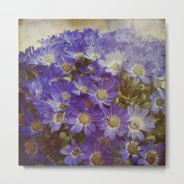 MY BOHEME FLOWERS Metal Print