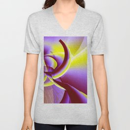 Dancing to the moon Unisex V-Neck