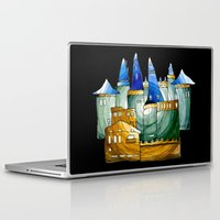castle Laptop & iPad Skins featuring Castle by Irina  Mushkar'ova
