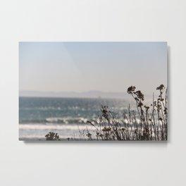 California Coastline (Huntington Beach) Metal Print