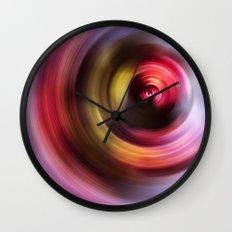 Floral Storm Wall Clock