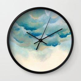 Cloudy night Wall Clock