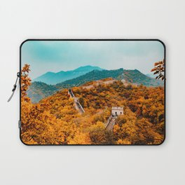 The Great Wall of China in Autumn (Color) Laptop Sleeve