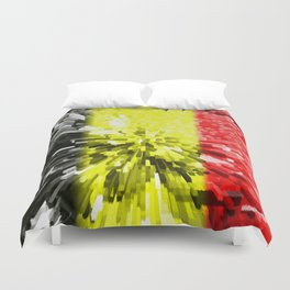 Flag of Belgium Duvet Cover
