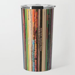 Alternative Rock Vinyl Records Travel Mug