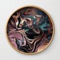 Metallic Rose Gold Marble Swirl by followmeinstead