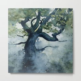 The Wishing Tree Metal Print